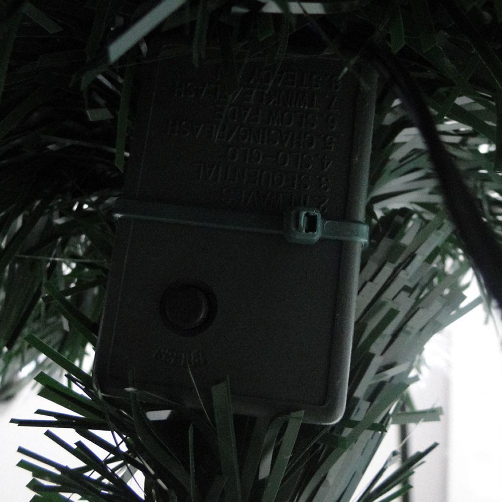Árvore de Natal Luxo 90cm Fibra Ótica Programável 8500 pontos bi-volt 1295