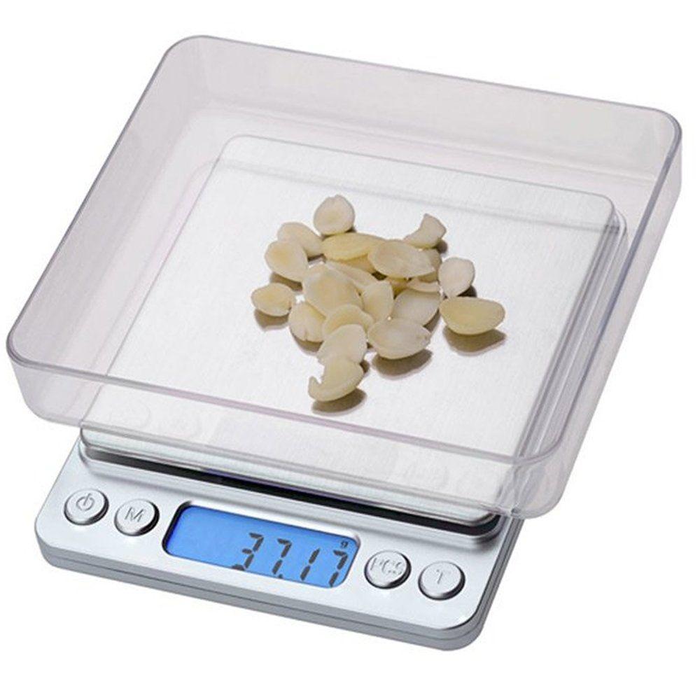 Balança digital de precisão 1g a 2kg Conta Peças c/ bandeja CBRN05529