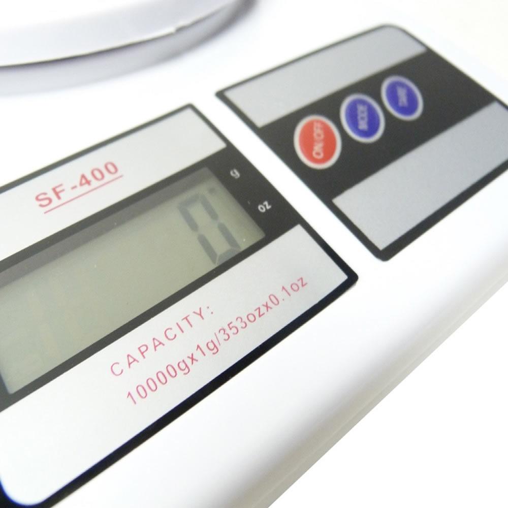 Balança Digital SF-400 Alta Precisão Eletrônica 1g a 10 kg