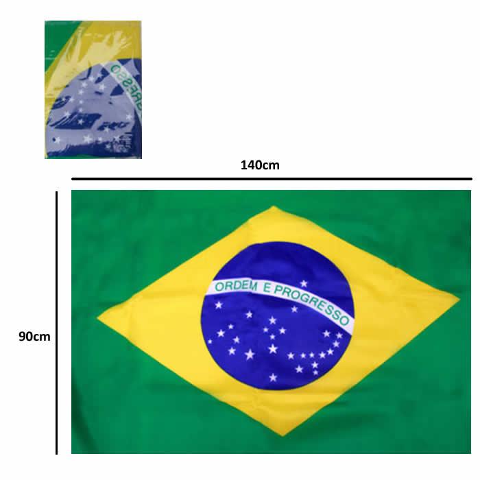 Bandeira do Brasil Olimpiada 90cm x 140cm 100% Poliester YDH-BR0007