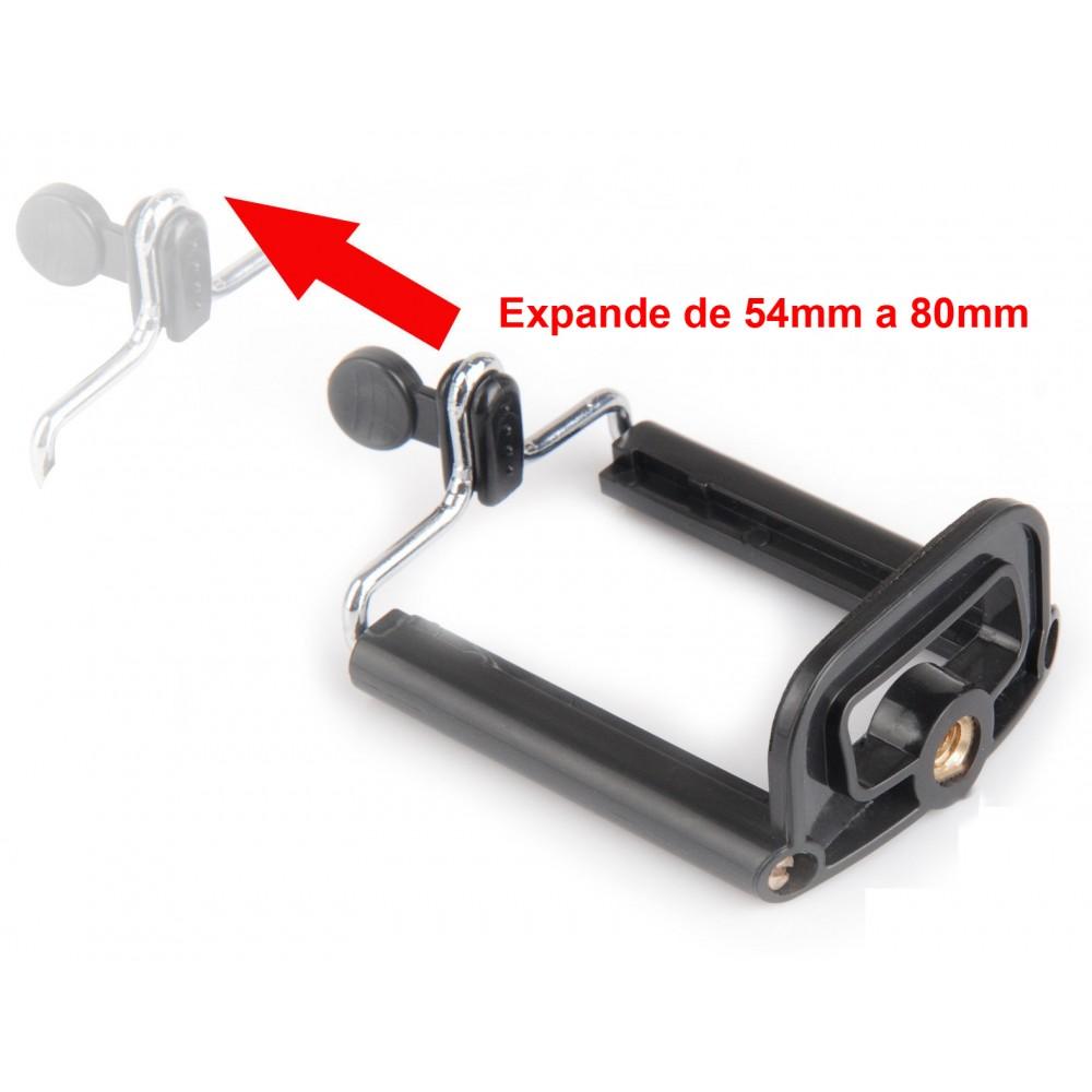 Bastão Selfie 1M Monopod Aço Z07-1 Verde + Controle WMTDS2588