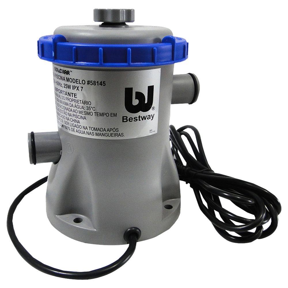Bomba Filtrante Piscina Bestway 220V 1250 Litros - 58145
