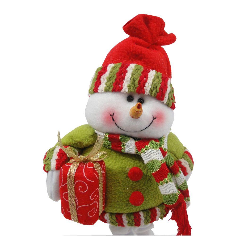 Boneco de Neve em Tecido 1420 38cm de Altura