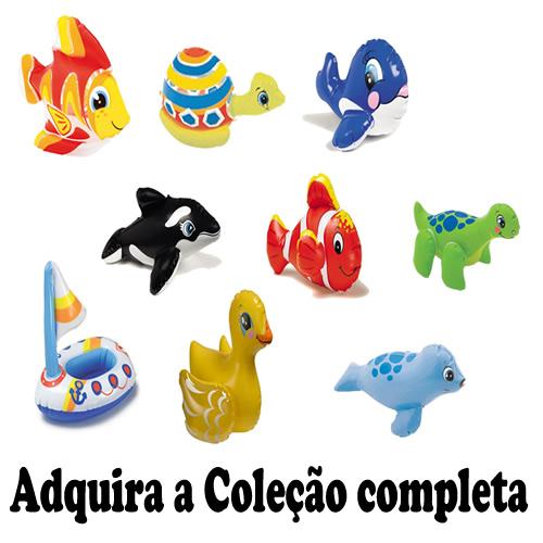 Brinquedo Inflável Aquático Intex Barco 58590 PUFFN PLAY