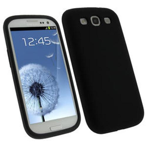 Capa Case Samsung Galaxy S3 i9300 Silicone Preto CBRN03679