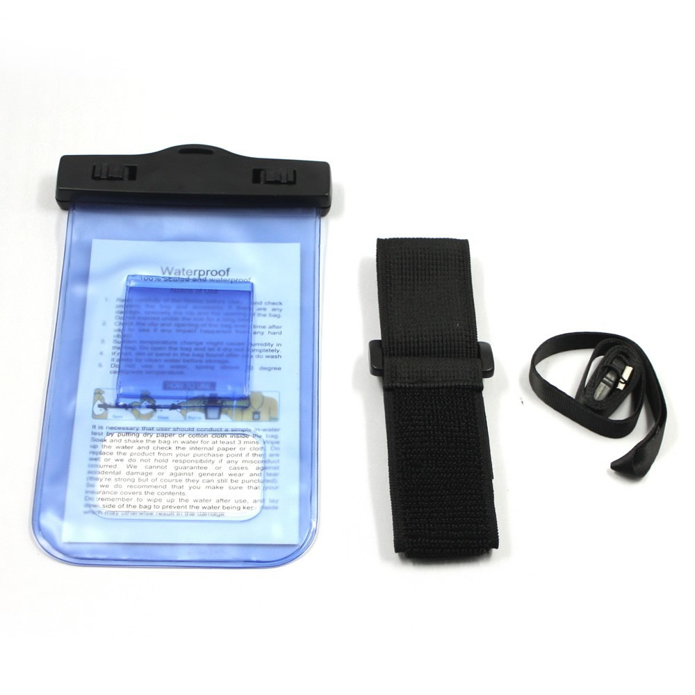 Capa Bolsa Estanque para Celular Prova Dágua Azul WMTCP160