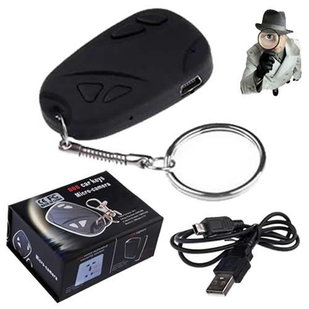 Chaveiro Espião Micro-camera 808 Câmera Filmadora Espiã - CBR-1040