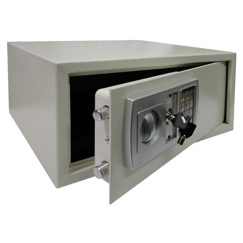 Cofre Eletrônico Digital Aço p/ Notebook Segurança CBR1060