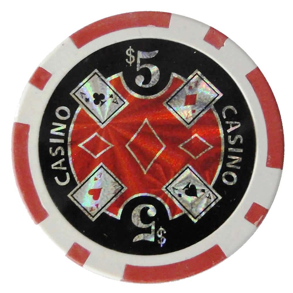 Conjunto 100 Fichas de Poker Numeradas e Decoradas 11,5g CBR01084