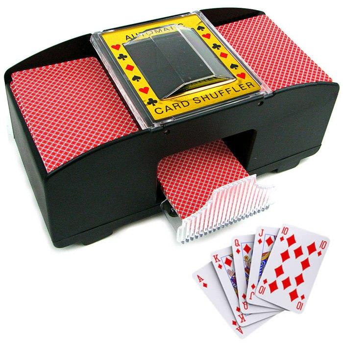 Embaralhador de Cartas Pilha Baralho Poker Buraco Truco Jogo - CBR1090