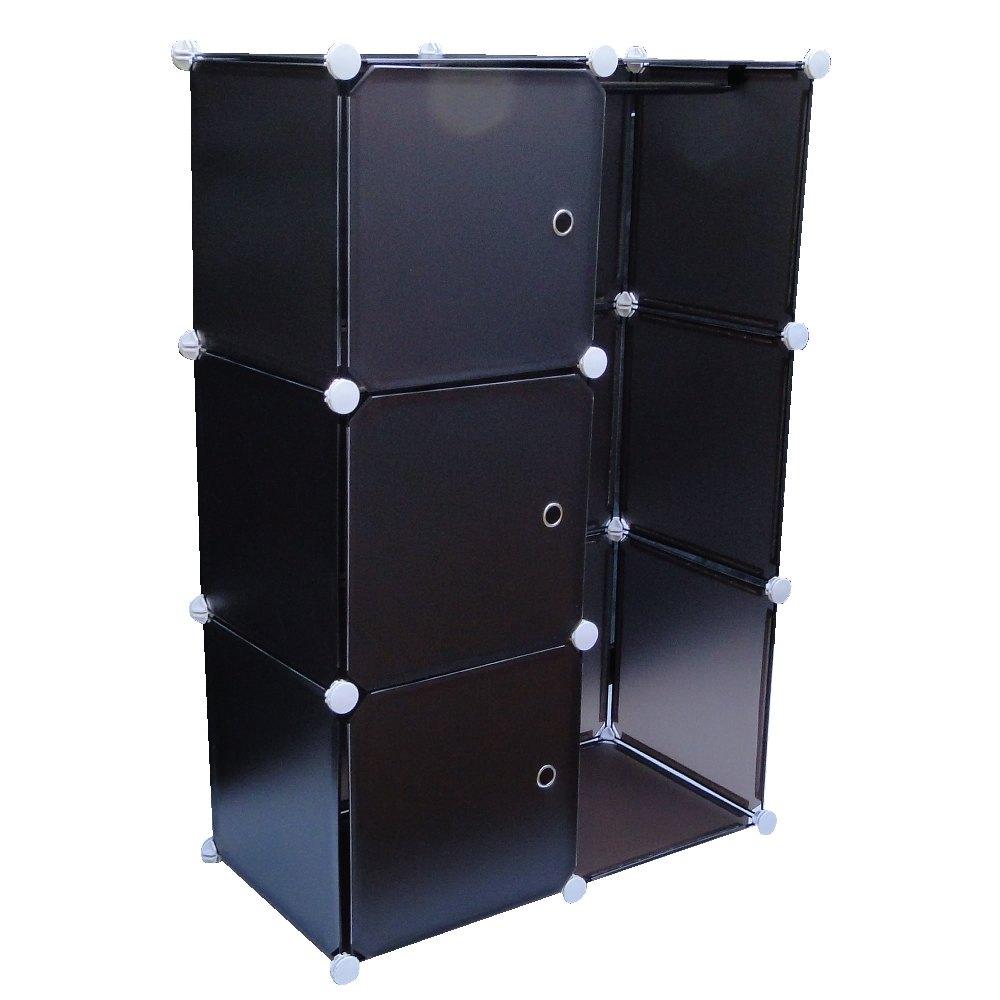 Estante Organizadora com 3 Portas, Cabide Colorido CBR-1020 - EXCLUIDA AS VARIAÇÕES