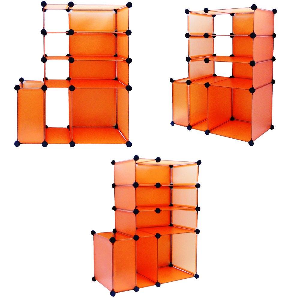 Estante Organizadora com 6 Compartimentos Colorida CBR-1024