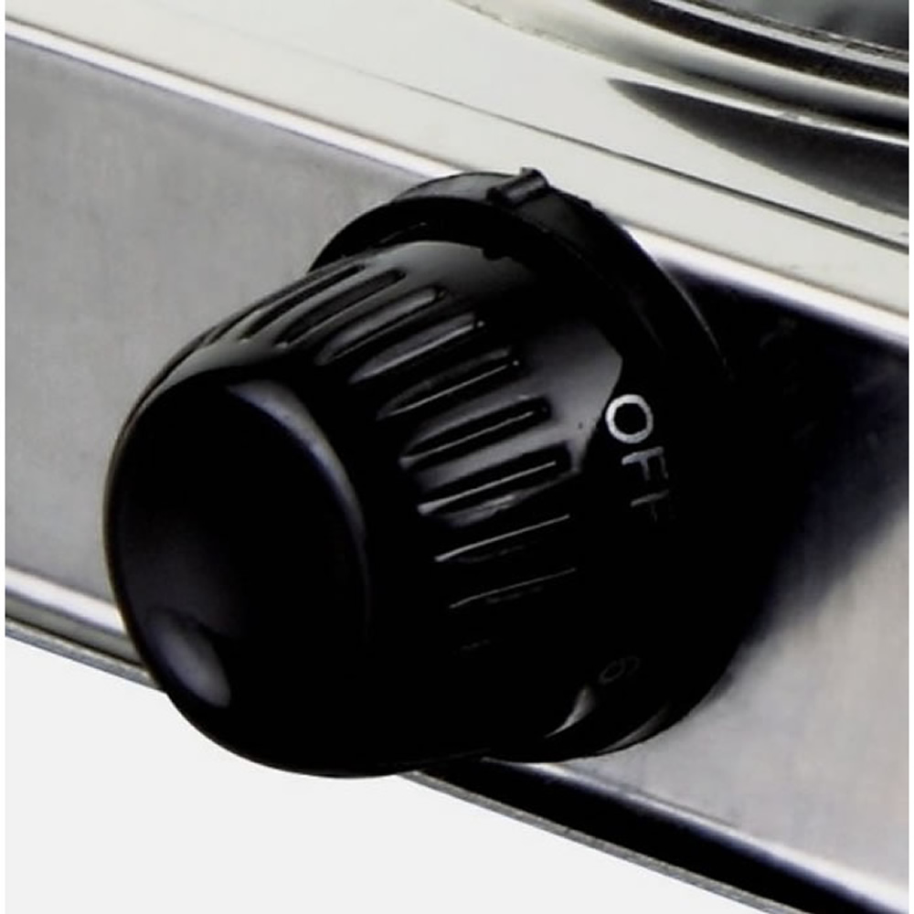 Fogão Elétrico 2 Bocas Anti-Aderente Aço Inox 2000w WMTFE-206 110 volts