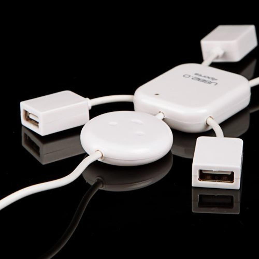 Hub 2.0 4 Portas USB Menino Alta Velocidade 480Mbps WMTLL80141