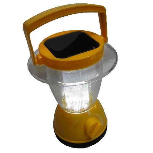 Lanterna Lampião Solar em PVC Rígido Colors Mod:1399 6 Leds