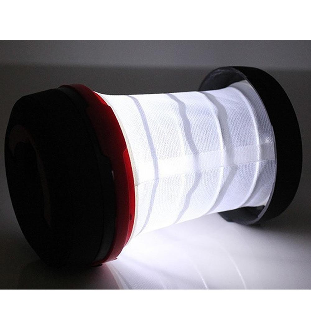 Lanterna Luminária Pop-up 1 Super Led Camping e Decoração DS-1589 VERMELHO