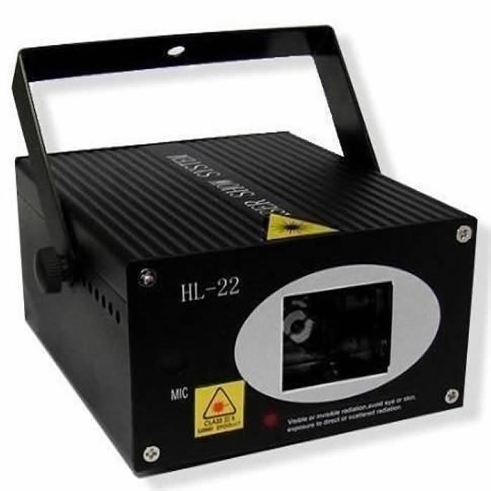 Laser Stage Lighting Projetor Holográfico Tripé HL22 2CORES bi-volt XX