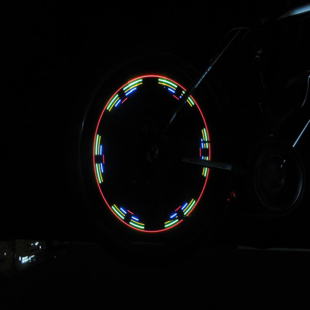 Led Luminoso para Bike,Moto,Carro 5 Leds CBR1111 - LC-D400