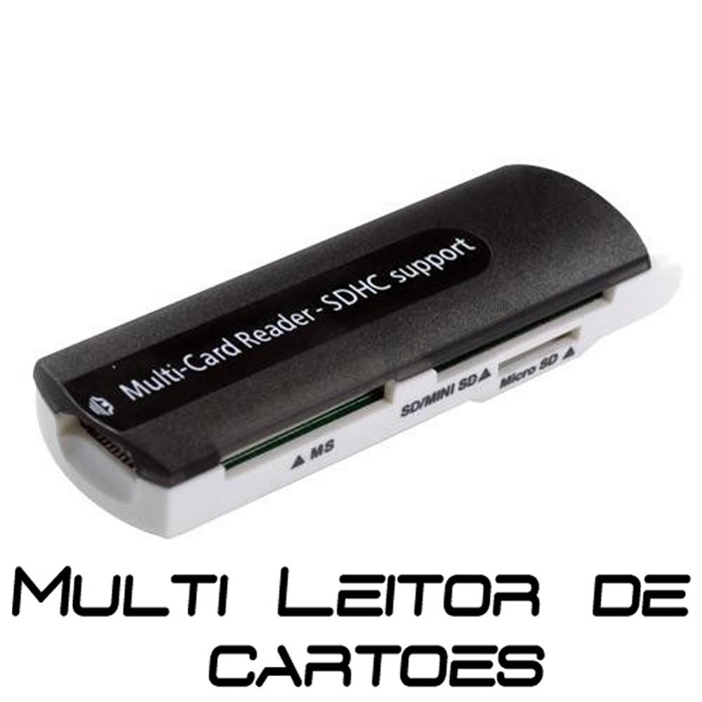 Leitor de Cartão Multi-Card Reader SDHC Support USB 2.0/1.1