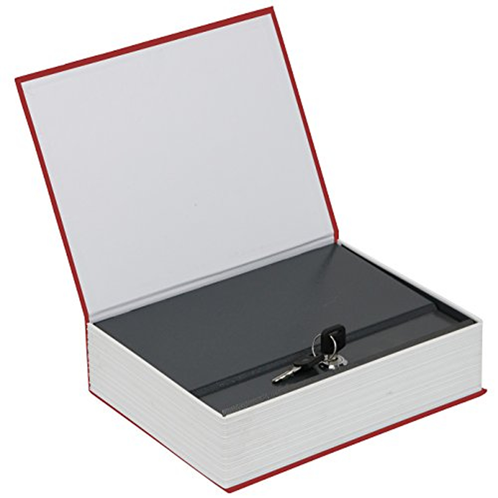 Livro Cofre Aço 2mm Book Safe DS-1467 26,5cm Dicionário Português