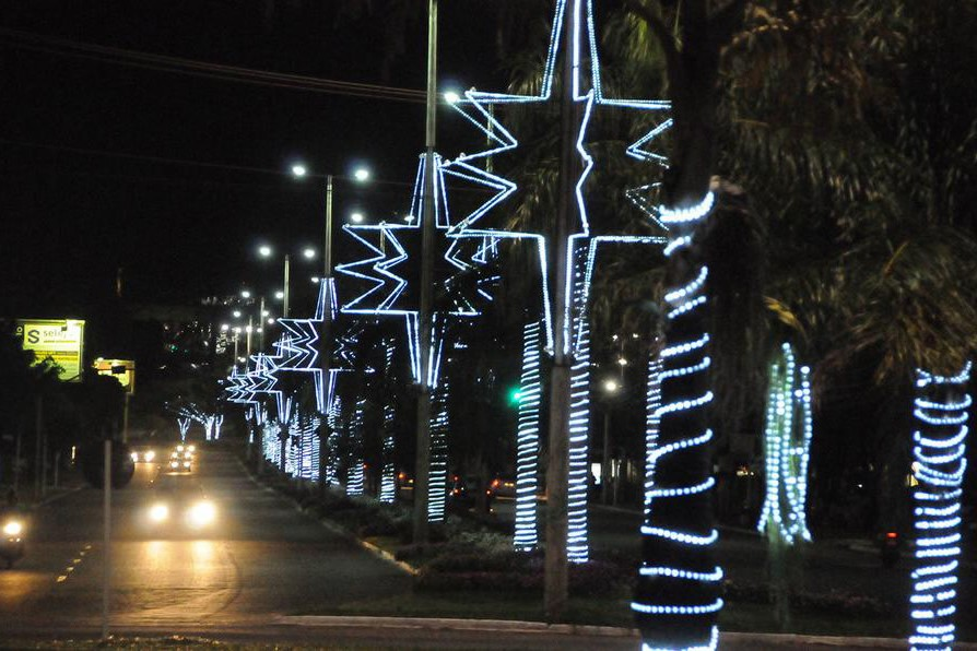 Mangueira Luminosa de Natal de LED Rolo 10mt Corda Luminosa LED