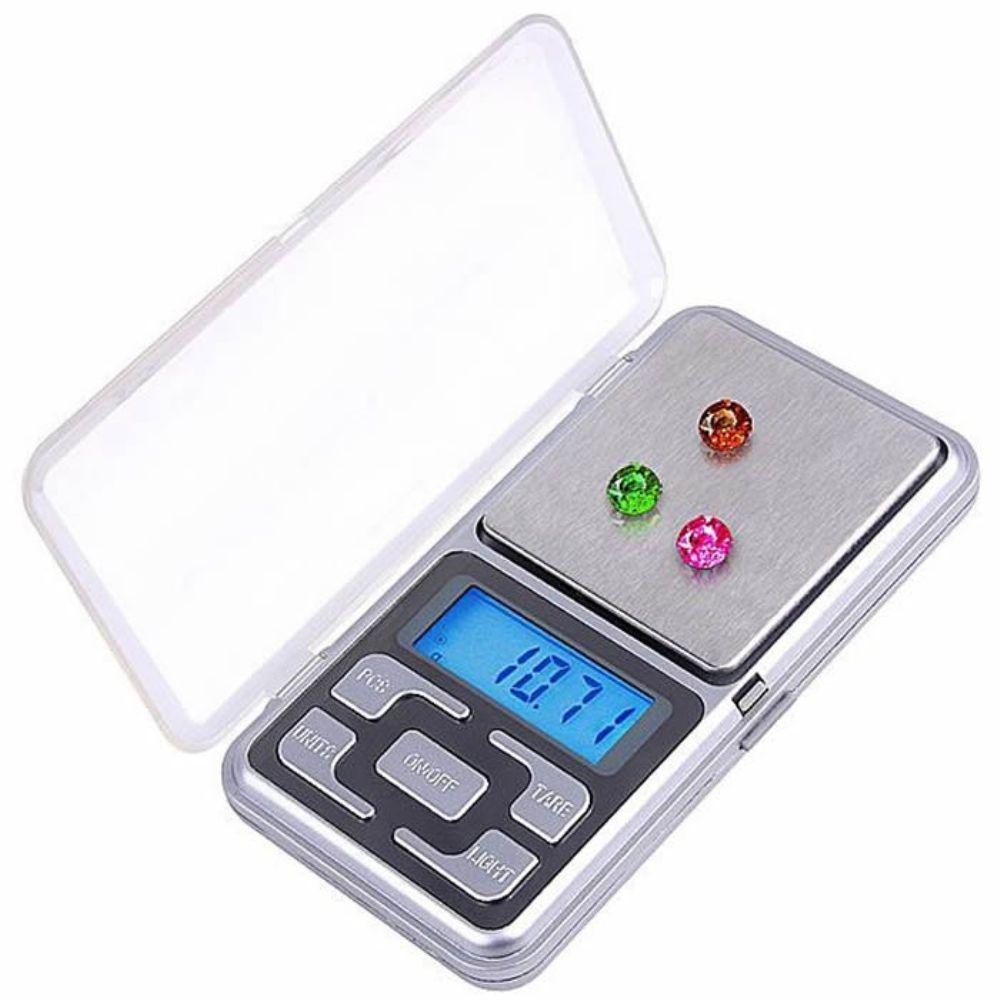 Mini Balança Digital Alta Precisão Bolso Portátil 500gr - CBR1050 MH-500