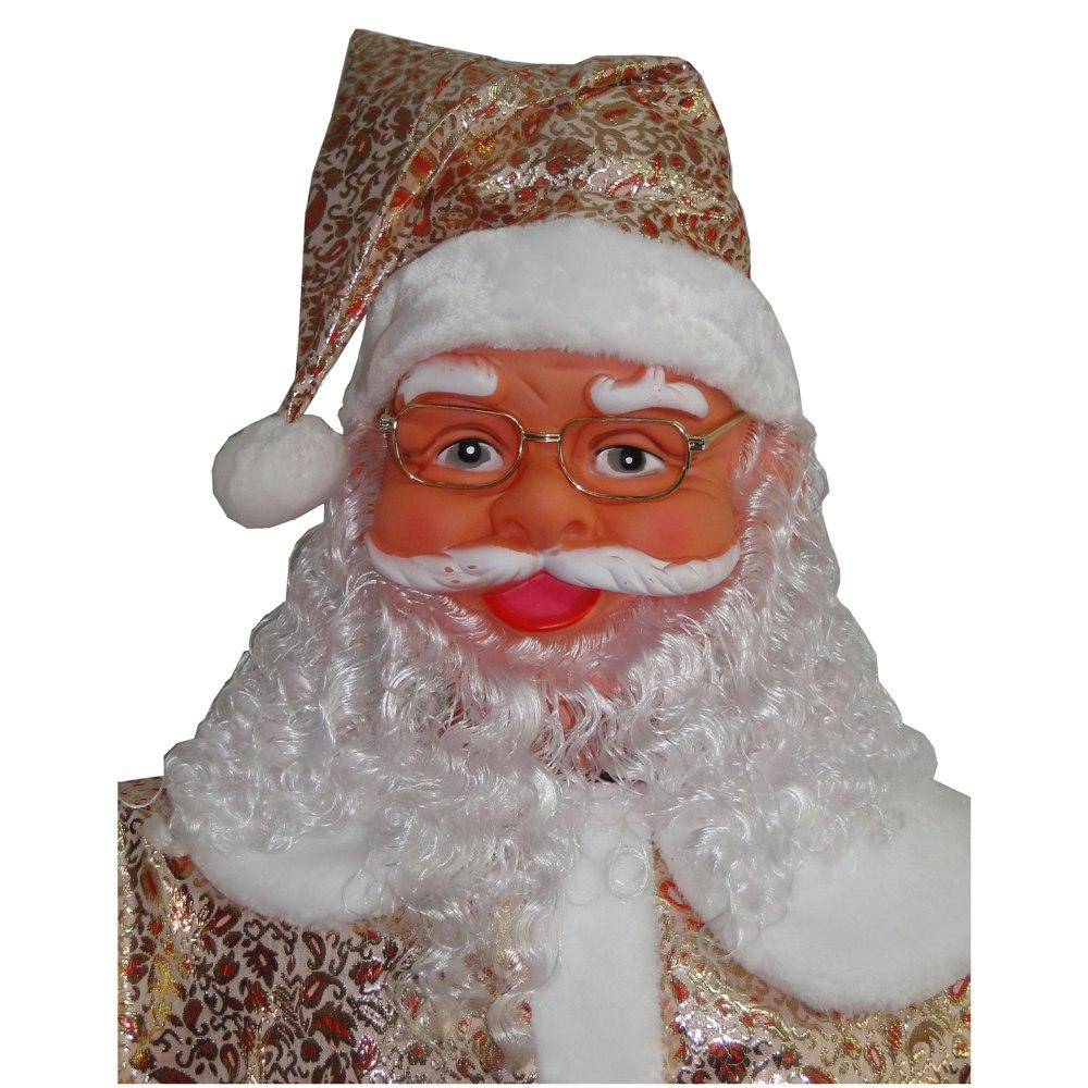 Papai Noel Dança e Canta 1,80m Bivolt 1499 - Dourado