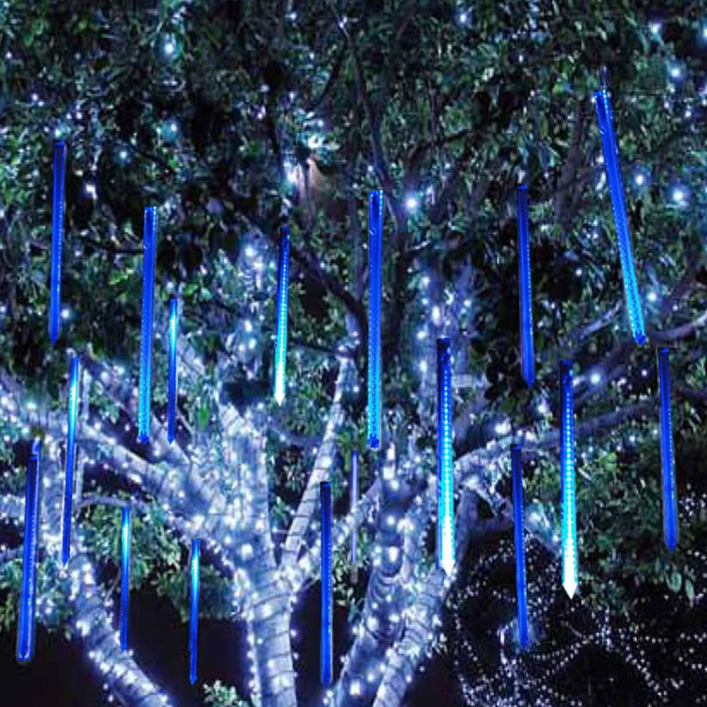 Pisca Led Turbo Snow Fall Azul 60cm 1 Tubo 33 Leds 331