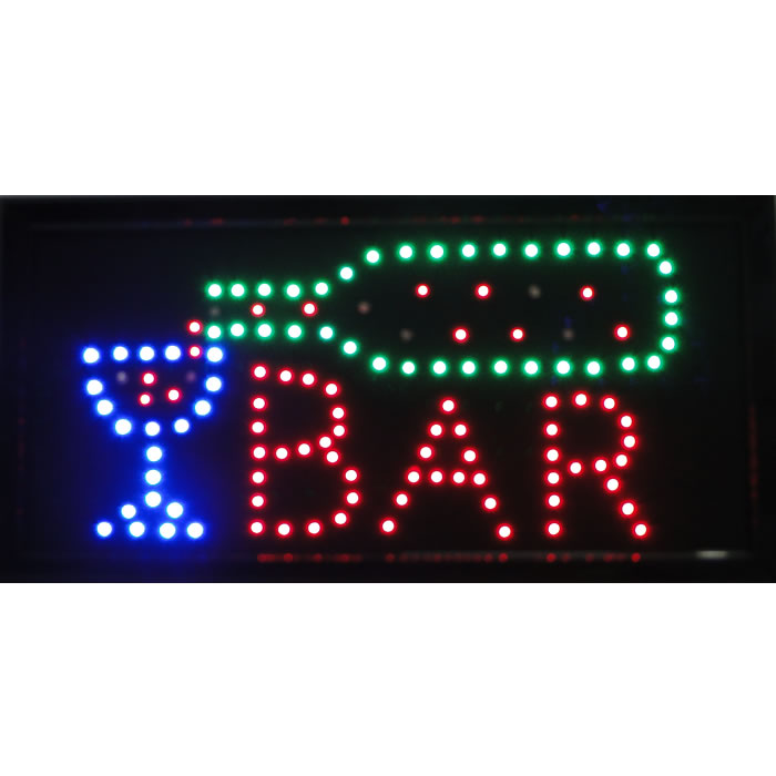 Letreiro luminoso de Led 110v Bar 1602