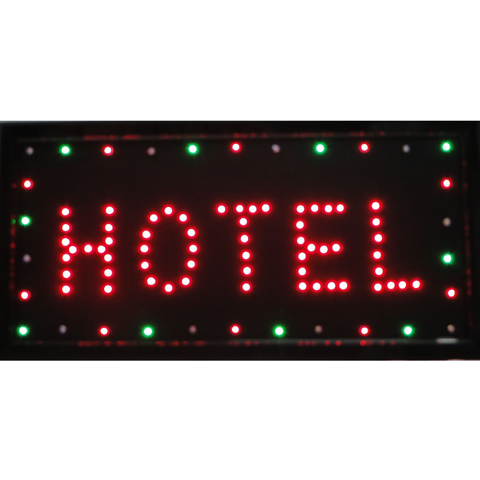 Letreiro luminoso de Led 110v Hotel 1612