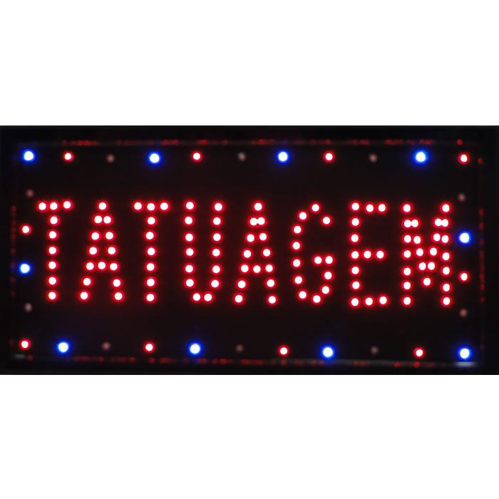 Letreiro luminoso de Led 110v Tatuagem 1608