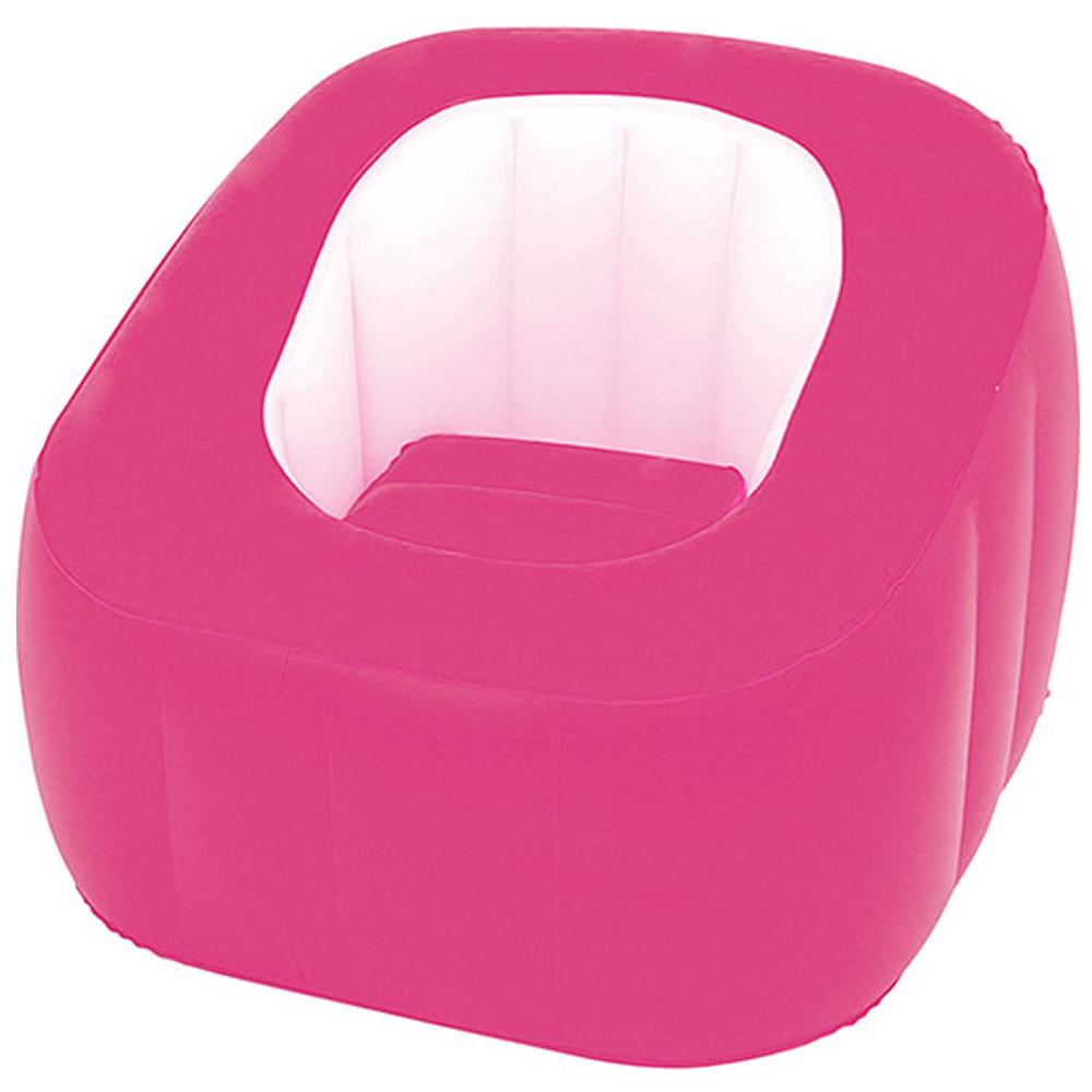 Poltrona Inflável Bestway Comfi Cube Rosa 75046