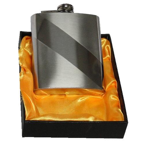 Porta Whisky Aço Inox Garrafa Bolso KB-201 Cantil 7OZ 210ml