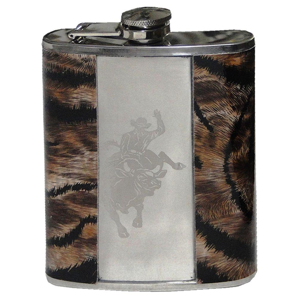 Porta Whisky Garrafa de Aço Portátil Cantil 9 OZ-270ml- DS-1872