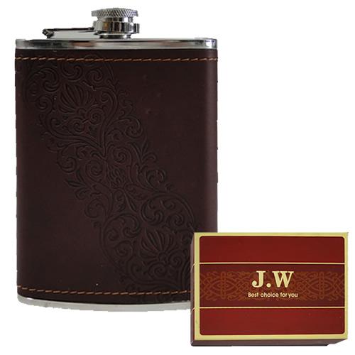 Porta Whisky Garrafa de Bolso KB-J318 Cantil 8 OZ 236ml