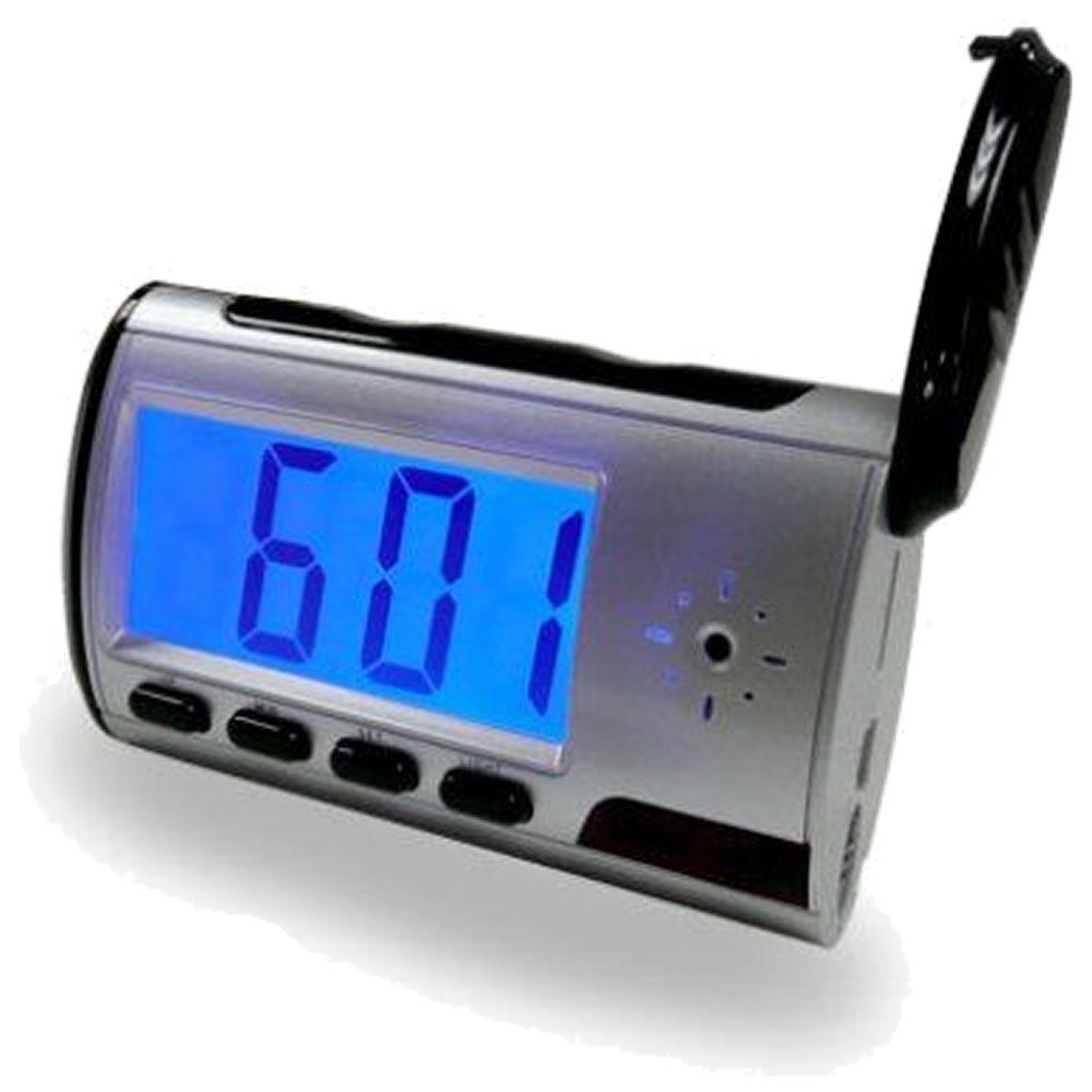 Relógio Câmera Escondida Espião Digital Detector Movimento CBR-1039