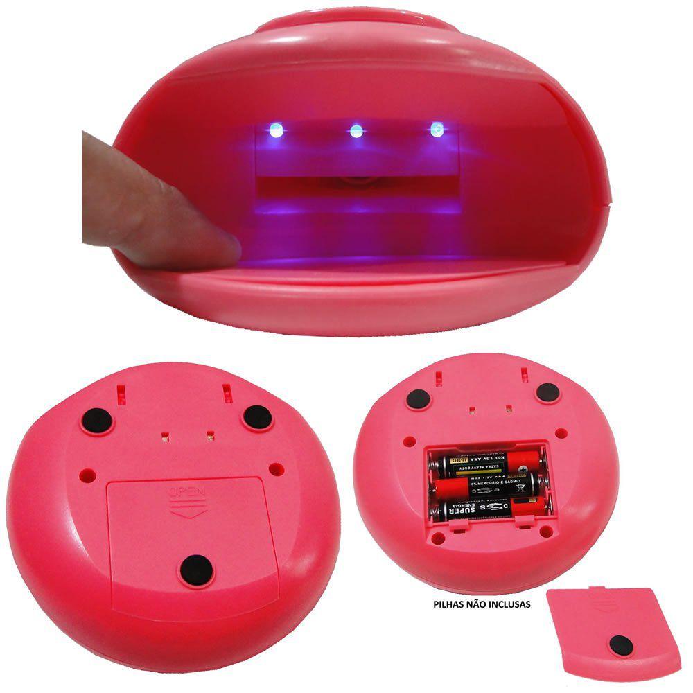 Secador De Unhas Portátil LED UV CBRN06557