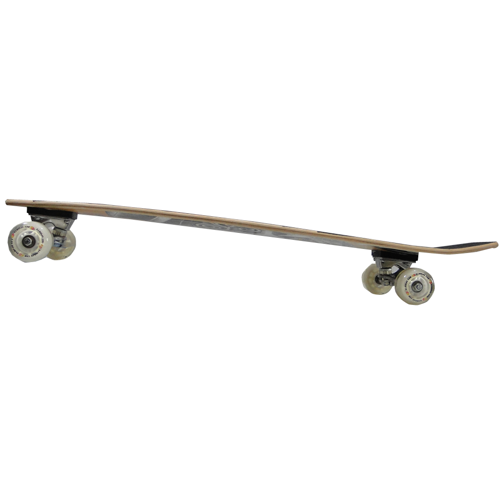 Skate Longboard Caveira Masculina Abec7 97cm rodas 70mm - 4657