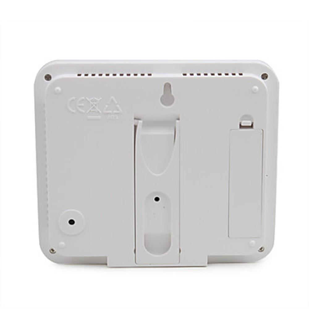 Termômetro Higrômetro Relógio Digital Despertador CBR1064 KT204 Pilha
