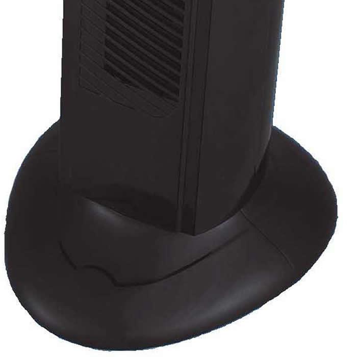 Ventilador Torre Giratório Homestar HS-7500 3 Velocidades c/ Timer 45w Preto