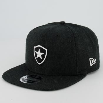 Boné New Era Botafogo 950 Preto Mescla