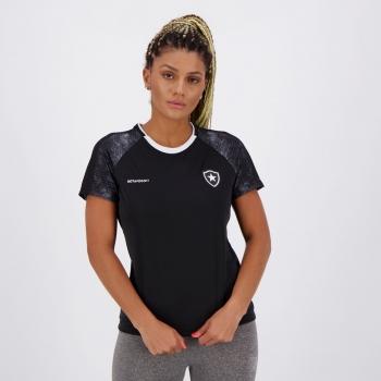 Camisa Botafogo Climber Feminina Preta