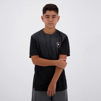 Camisa Botafogo Contact Infantil Preta