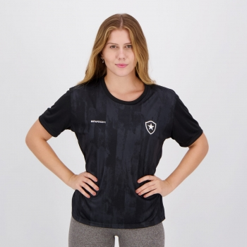 Camisa Botafogo Fold Feminina Preta