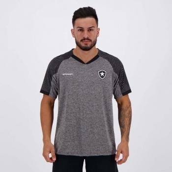 Camisa Botafogo Gloam Cinza e Preta
