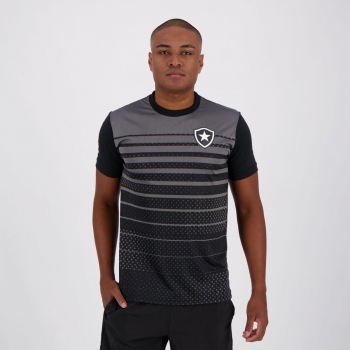Camisa Botafogo Glorioso Preta e Chumbo