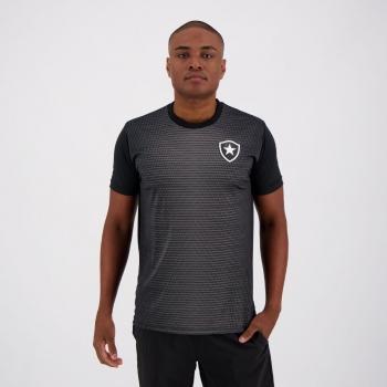 Camisa Botafogo Gradient Preta e Chumbo