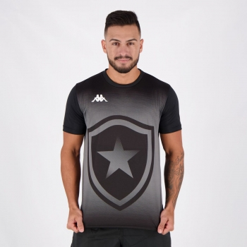 Camisa Kappa Botafogo Supporter II Preta