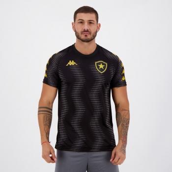 Camisa Kappa Botafogo Aquecimento 2021