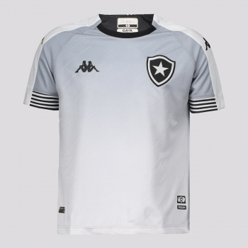 Camisa Kappa Botafogo Goleiro I 2021 Infantil